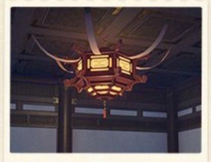 Embroided Lantern
