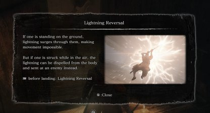 Lightning Reversal Technique Required
