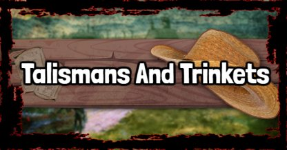 Red Dead Redemption 2 - Talismans And Trinkets