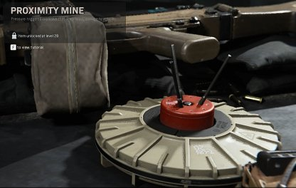 Proximity Mine Lethal Equipment
