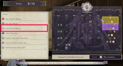 Exploit Food Events Noted In Calendar