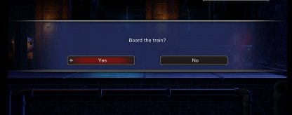 Board The Train In The Bridge of Evil