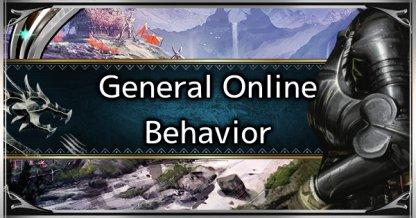 General Online Play Behavior & Etiquette
