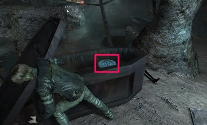 Emblem Location 2 - Inside Casket