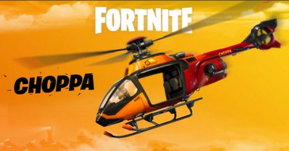 Helicopter CHOPPA Debut