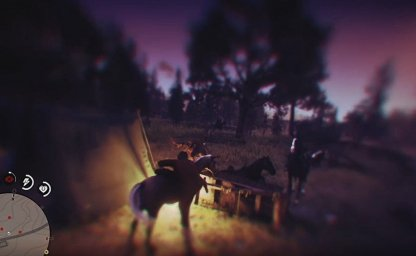 Outrun the Enemies on Horseback