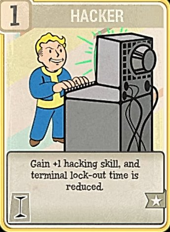 Fallout 76 Perk Card Intelligence Hacker