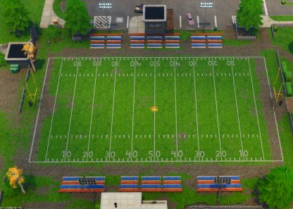 Pleasant Park football field