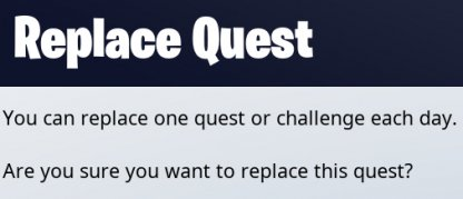 Replace Daily Challenges