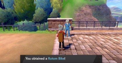 Rotom Bike