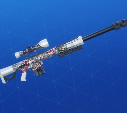 WHITE DRAGON Wrap - Sniper Rifle