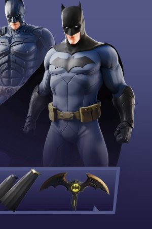 Skin Outfit BATMAN COMIC BOOK OUTFIT