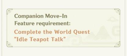 companion move-in system
