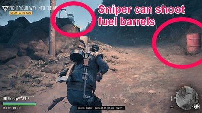 Stay Away From The Exploding Barrels