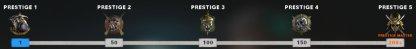 Earn Prestige Keys Every 50 Season Levels