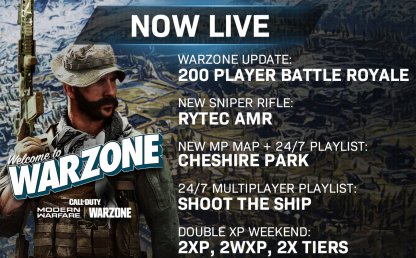 Welcome to warzone