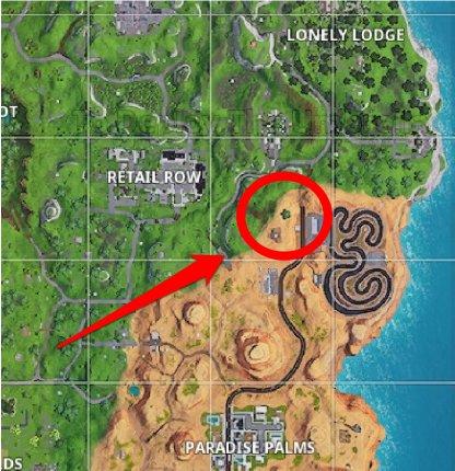 Season 7 Week 10 Secret Banner Location