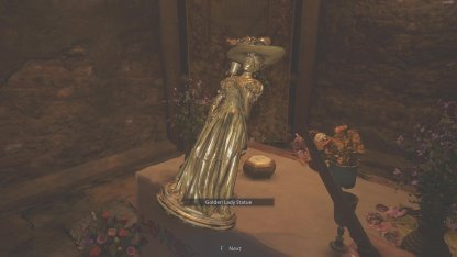 Collect Golden Lady Statue For Lei