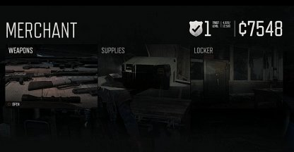 Purchase Weapons, Ammo, & Supplies
