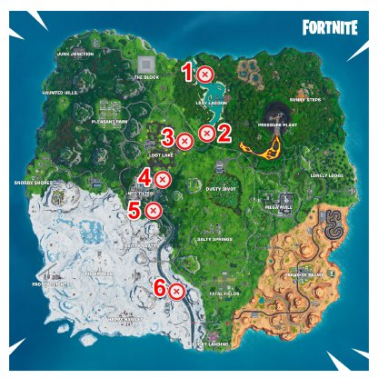 All Firework Locations