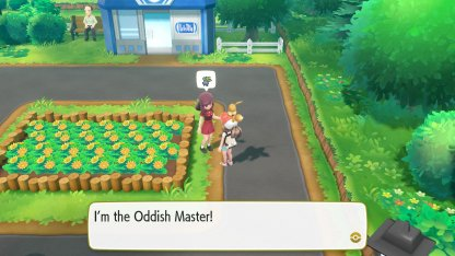 Oddish Master Trainer