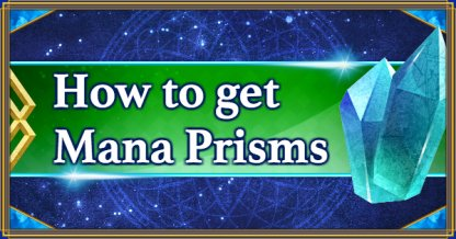 How to get Mana Prisms banner