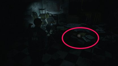 Resident Evil 2 Demo Weapons Locker Key