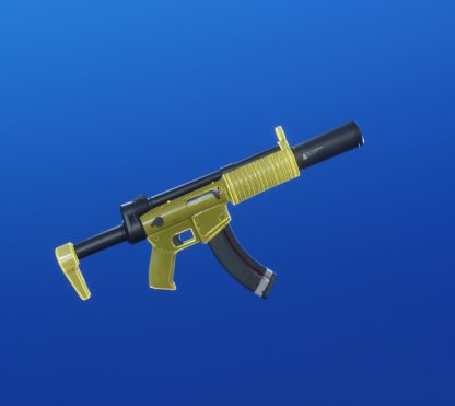 YELLOW GLOW Wrap - Submachine Gun