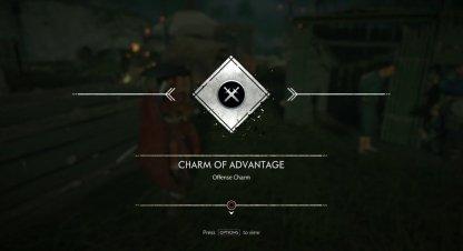 Receive Charm of Advantage