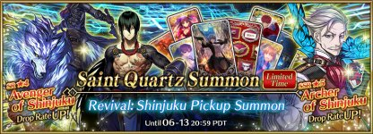 Revival: Shinjuku Pickup Summon banner