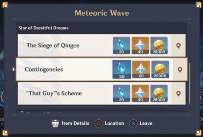 Meteoric Wave