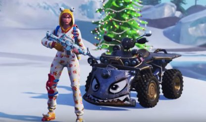 Fortnite | SGT  WINTER - Skin Review: Challenge Leveling