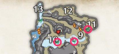 Wirebug Locations
