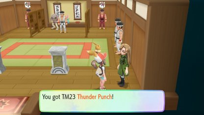Thunder Punch Location
