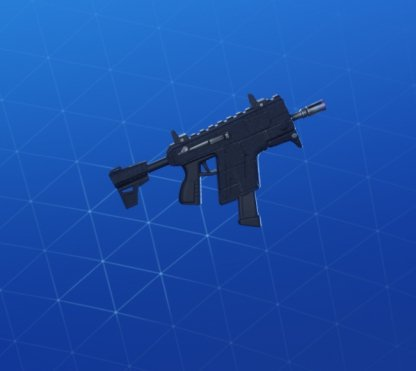 STEALTH BLACK Wrap - Submachine Gun