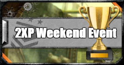 2XP Weekend Event