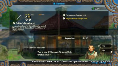 Best Weapons Seals Guide Hyrule Warriors Age Of Calamity Gamewith