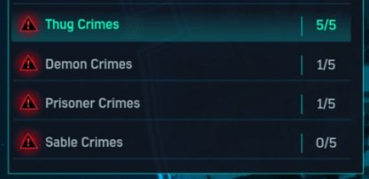 Spider-Man PS4 Crimes Per Area