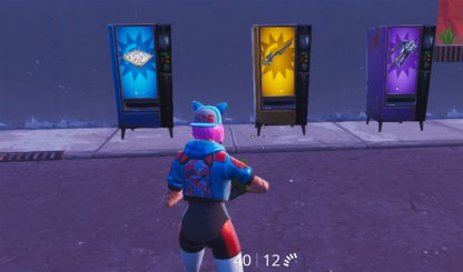 Vending Machine Color Indicates Rarity