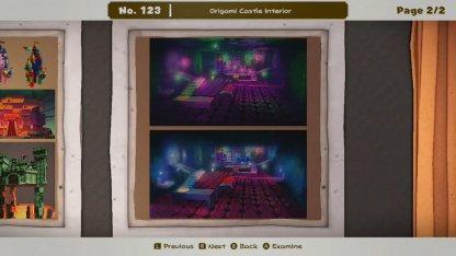 Origami Castle Interior