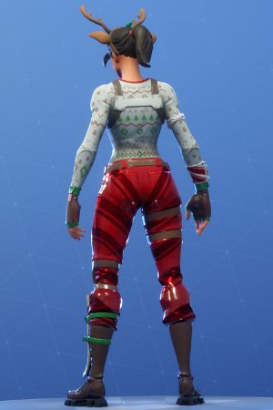 RED-NOSED RAIDER Back