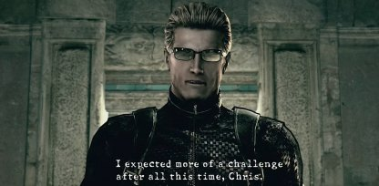 Need to Survive Against Wesker for 7 Minutes