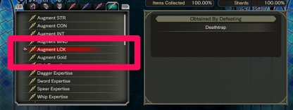 Augment Gold Passive Skill & Skill Shard Are Required