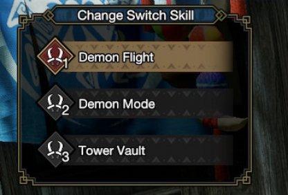 Dual Blades Switch Skills