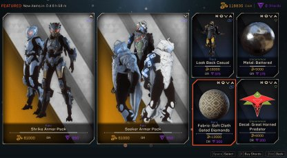 Anthem Purchase Featured Items In Store