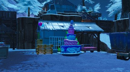 Shifty Shafts Birthday Cake Close Up