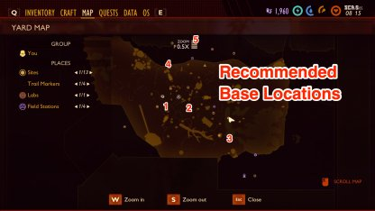 Base Locations