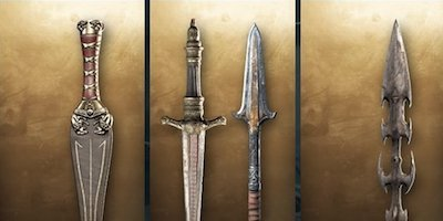Weapon List & Traits - Sword - Assassin's Creed Odyssey