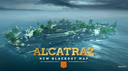 New Blackout Map Alcatraz Launches April 2!