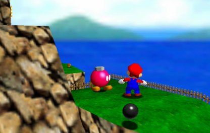 Talk To The Pink Bob-omb To Ready Cannon